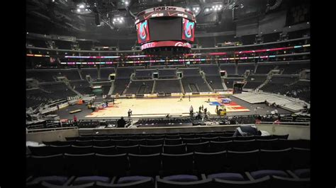 photo time lapse  staples center changeover youtube