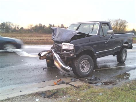 truck  wrecked saved  lfe ford  forum