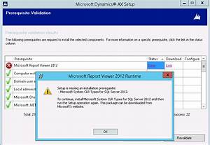 yet another dynamics ax blog error during install of With microsoft html viewer
