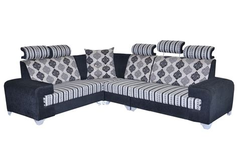 types of sofasets sofa set jodhpur grey l type model it is a lounger sofa frame made up of pinewood termite