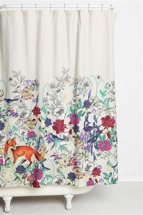 Plum And Bow Curtains Ebay by Plum Bow Forest Critters Shower Curtain