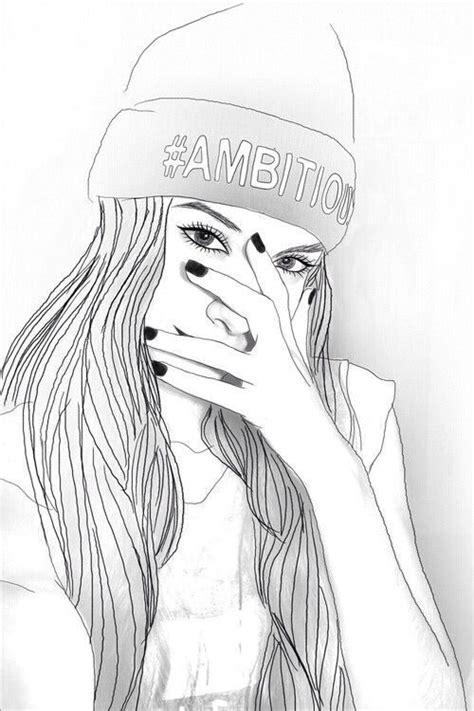 dibujos tumblr  lapiz color  blanco  negro todo