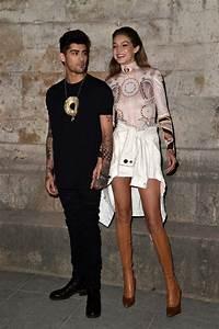 Zayn Malik and Gigi Hadid at the Givenchy Fashion Show ...