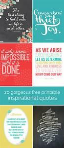 20 gorgeous fre... Free Prints Quotes