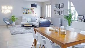 amenager une salle a manger idees et conseils cote maison With couleur mur salon tendance 6 tendance decoration coloree pour son salon made in meubles