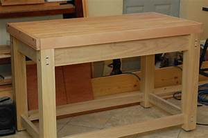 Image Gallery wooden workbench