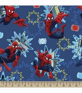 Licensed Cotton Fabric-Spiderman Photo Burst Jo-Ann