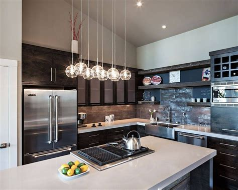 Kitchen Lighting Collections by 15 Collection Of Pendant Lights For Kitchen Island