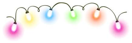 flower clip christmas lights transparent clip library
