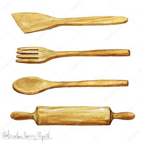 clipart cucina acquerello clipart utensili di cucina foto stock