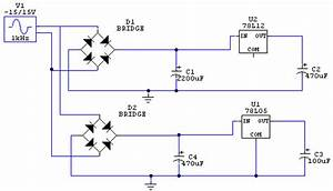 Basic Circuit Of The Voltage Regulator  12v Voltage Regulator Circuit