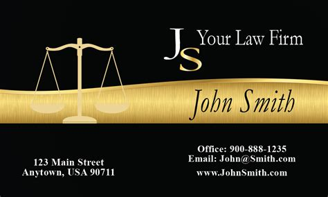 attorney  law office business cards lawyer  legal