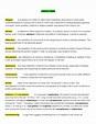 literary terms sheet