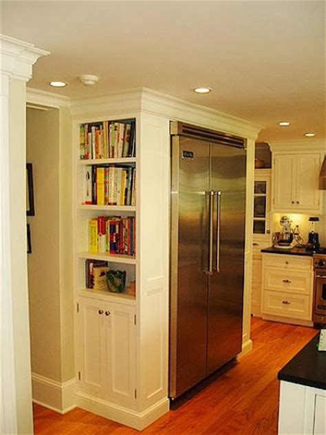 kitchen cabinet bookshelf storing cooking books 11 ideas for building bookshelves 2371