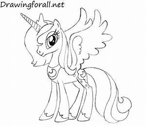 How To Draw Princess Luna Drawingforallnet