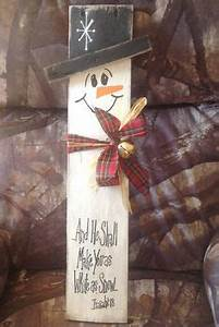 1000 images about Wooden Snowmen crafts on Pinterest