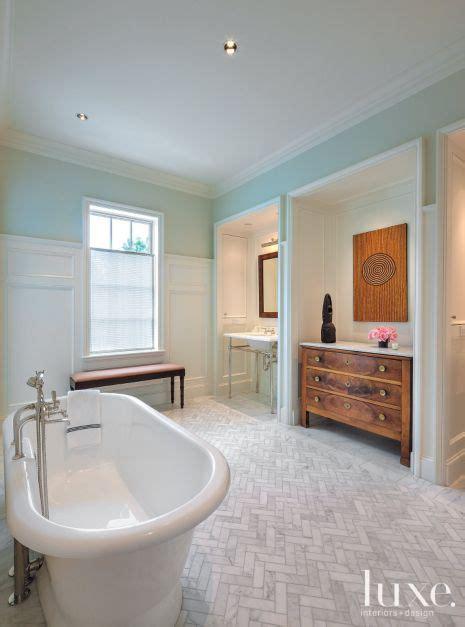 elegant transitional master bathroom luxe interiors design