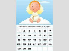 Calendario de Nombres de Santo – Agosto