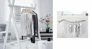 Portant Bois Vetement : rangement dressing meuble de rangement et astuces ~ Nature-et-papiers.com Idées de Décoration