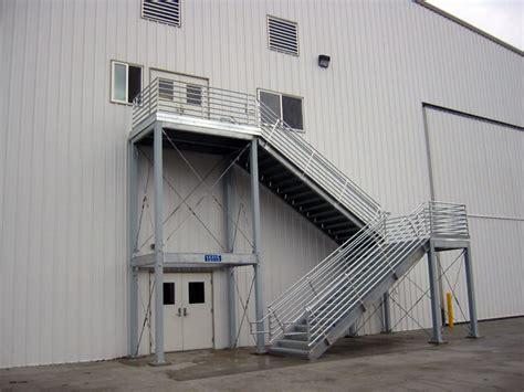 mezzanine stairs mezzanine landings stair tower systems