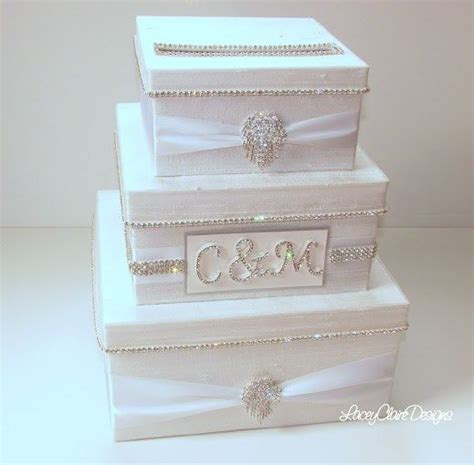 wedding card box bling card box rhinestone money holder