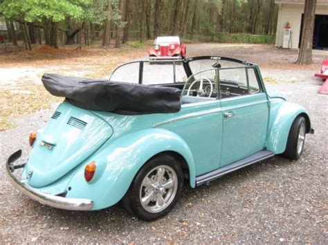 volkswagen convertible vw beetle bug barn garage find