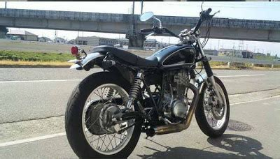 Racer Style Modifikasi by Style Modifikasi Yamaha Style Brat Style
