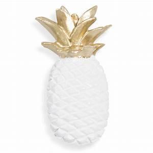 Ananas Deco Blanc : decoration ananas maison du monde ~ Teatrodelosmanantiales.com Idées de Décoration