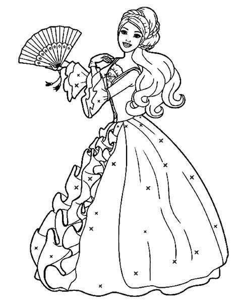 de tuinen barb mosqueteiras barbie az dibujos para colorear