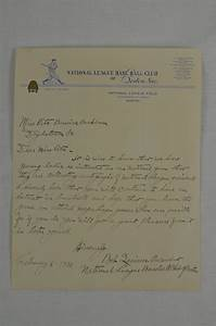 lot detail bob quinn 1938 boston bees letter With letters to a beekeeper