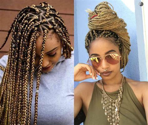 spectacular long box braids hairstyles  hairdromecom