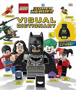 LEGO DC Super Heroes Visual Dictionary Exclusive Yellow ...