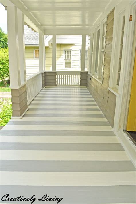 front porches painted stripes  porches  pinterest