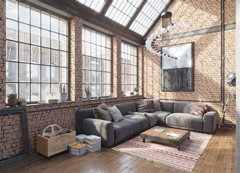 Industrial Loft by Industrial Loft Interior Designio