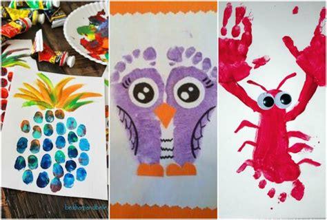 kreative ideen mit hand und fussabdruecken nettetippsde