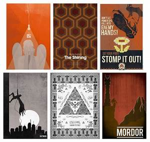 Six Art Prints to Geek Up Your Walls - Our Nerd Home