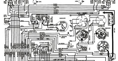 Wiring Diagram Chevrolet Chevy Cylinder All