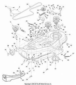 34 Troy Bilt 46 Inch Riding Mower Belt Diagram