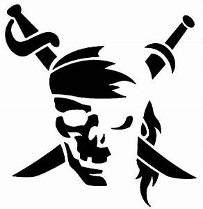 Best Photos of Pirate Skull Template - Pirate Skull and ...