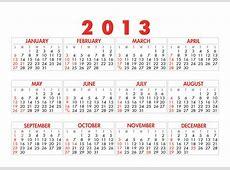 Calendars 2013 Templates