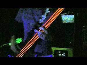 My new DR Neons bass strings yeah they glow