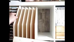 Ikea Regal Aufbewahrung : 12 scrapbooking papier aufbewahrung im ikea kallax regal youtube ~ Sanjose-hotels-ca.com Haus und Dekorationen