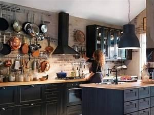Style Industriel Ikea : cuisine industrielle ikea cuisine en image ~ Teatrodelosmanantiales.com Idées de Décoration