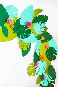 Deko Für Teenager : diy tropical garland teenager geburtstagsparty ~ Michelbontemps.com Haus und Dekorationen