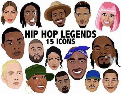 Clipart Hip Hop Legends Rappers Dre Dr