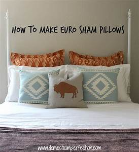 sewing a euro sham pillow with flanges domestic imperfection With european sham dimensions