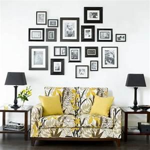 Wandgestaltung Mit Fotos : wanddekoration ideen mit bildern und familienfotos ~ Frokenaadalensverden.com Haus und Dekorationen