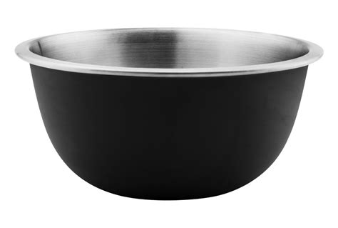 oxo good grips stainless steel mixing bowl  silicone  skid exterior  quart cutlery