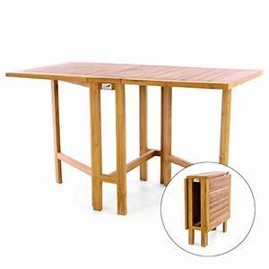Tisch Klappbar Holz : divero gl05527 klapptisch balkontisch gartentisch esstisch klapptisch ~ Orissabook.com Haus und Dekorationen