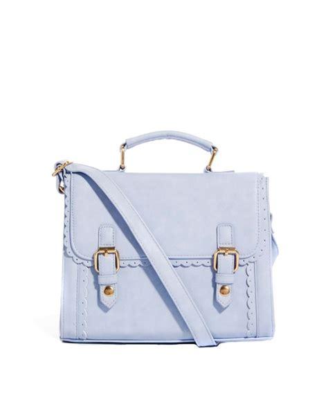 asos women handbag bag satchel purple lilac pastel